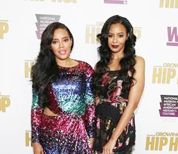 "The cast of WE tv's ""Growing Up Hip Hop"" celebrated the Season 3 premiere"